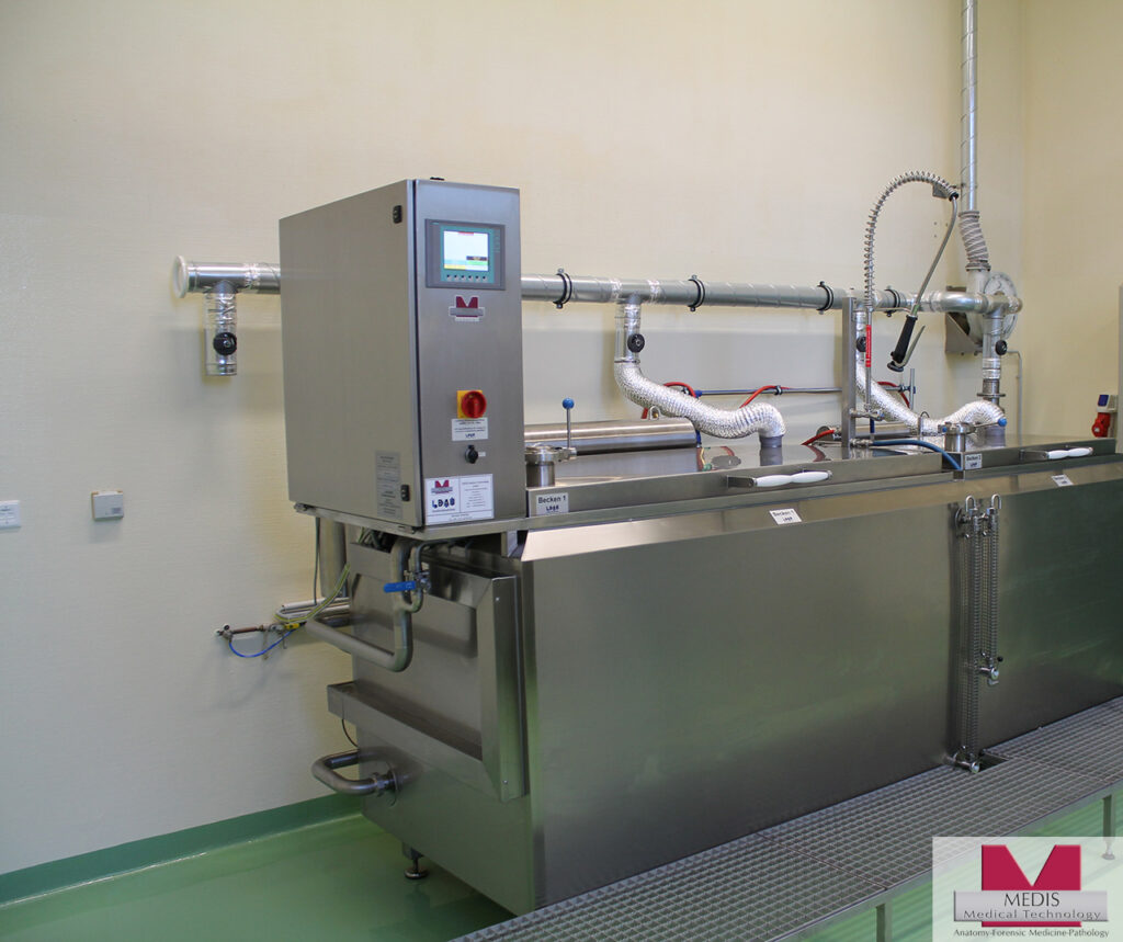 Bone Maceration Unit with two Process-Chambers